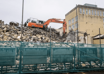 Pennys Group Demolish Former Bath College Building to Make Way For a New Hotel