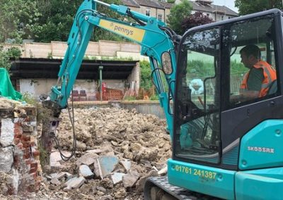 Excavation & Civils Work for Clevedon Pools, Bath