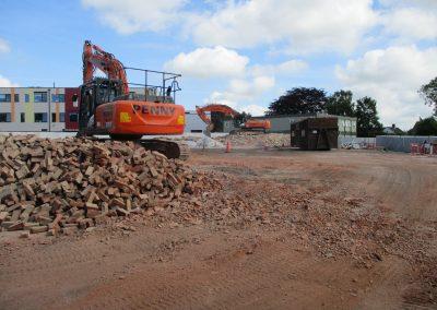 Pennys Group Demolish Haygrove School's Old Building